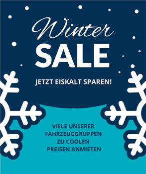 Winter Sale Autovermietung Hoffmann